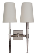 Craftmade 44662-PLN - Ella 2 Light Wall Sconce in Polished Nickel