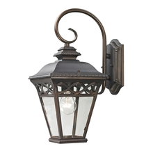 Thomas 8501EW/70 - Mendham 1 Light Outdoor Wall Sconce In Hazelnut
