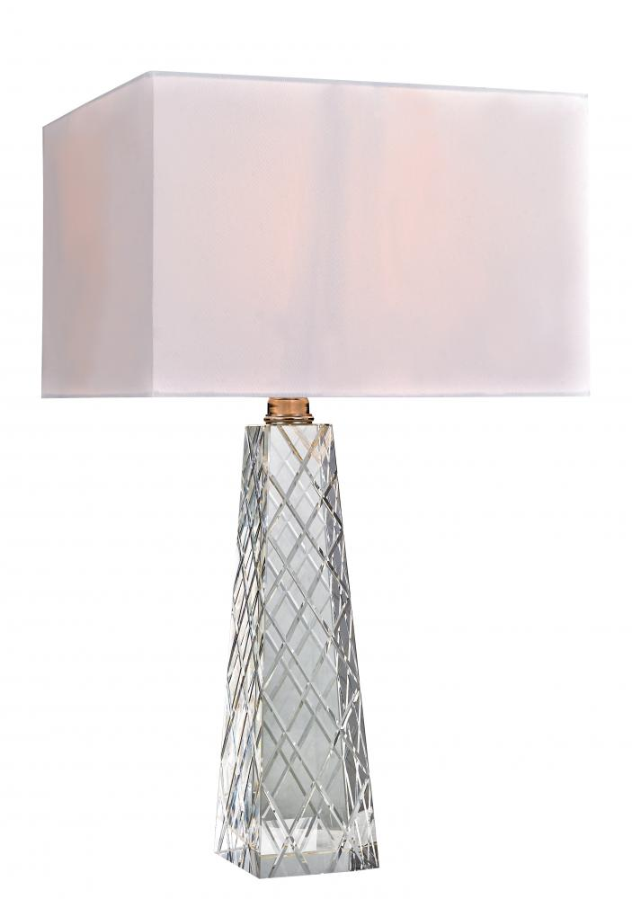 "Illuminations RGV in McAllen, Texas, United States,  WNGF, Montecito 26.75"" high Table Lamp, Montecito"