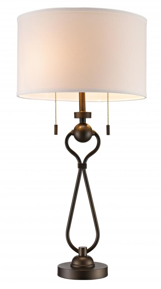 Illuminations RGV in McAllen, Texas, United States,  WPG2, Mulholland Table Lamp, Mulholland